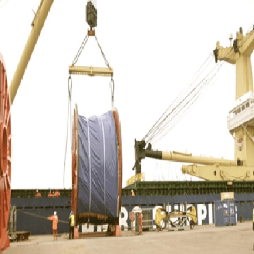 Dubai petroleum subsea cable project
